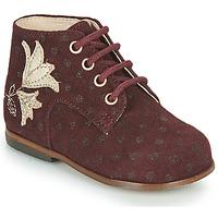 Zapatos Niña Zapatillas altas Little Mary MEIGE Burdeo