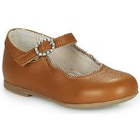 Zapatos Niña Bailarinas-manoletinas Little Mary AUBERIE Marrón