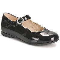Zapatos Niña Bailarinas-manoletinas Little Mary AUBERIE Negro