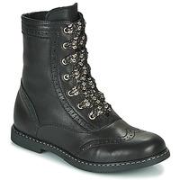 Zapatos Niña Botas de caña baja Little Mary LYSIANE Negro
