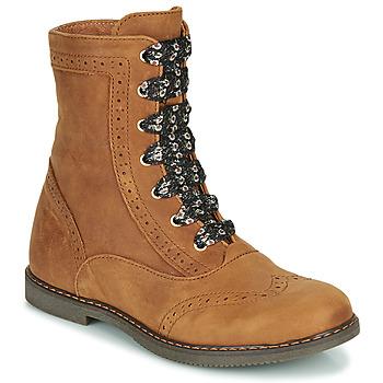 Zapatos Niña Botas de caña baja Little Mary LYSIANE Marrón