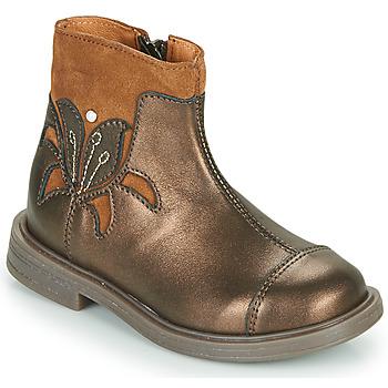 Zapatos Niña Botas de caña baja Little Mary ELIANE Oro
