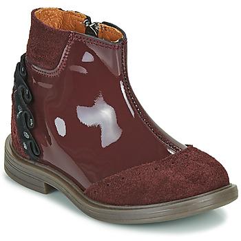 Zapatos Niña Botas de caña baja Little Mary ELSIE Rojo
