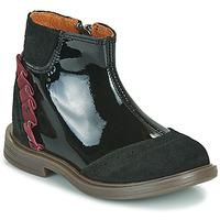 Zapatos Niña Botas de caña baja Little Mary ELSIE Negro