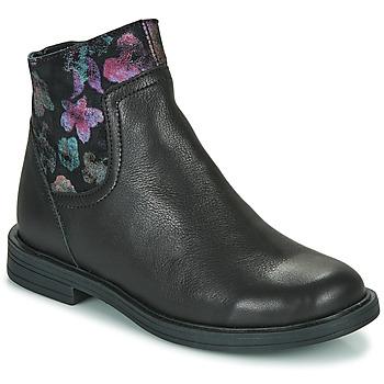 Zapatos Niña Botas de caña baja Little Mary ELIETTE Negro