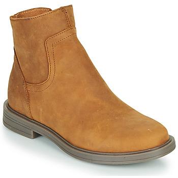 Zapatos Niña Botas de caña baja Little Mary ELIETTE Marrón