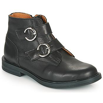 Zapatos Niña Botas de caña baja Little Mary EMILIENNE Negro