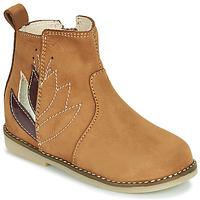 Zapatos Niña Botas de caña baja Little Mary KARRY Marrón