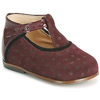 Zapatos Niña Zapatillas altas Little Mary BETHANY Burdeo