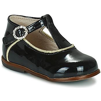 Zapatos Niña Zapatillas altas Little Mary BETHANY Negro