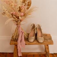 Zapatos Mujer Zapatos de tacón Céleste MIRABELLE Oro
