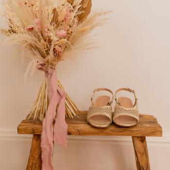 Zapatos Mujer Sandalias Céleste CANNELLE Oro