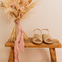 Zapatos Mujer Sandalias Céleste ORANGER Oro