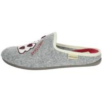 Zapatos Mujer Pantuflas Grunland - Pantofola grigio CI2938 GRIGIO
