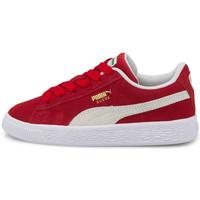 Zapatos Niños Zapatillas bajas Puma Suede classic xxi ps Rojo