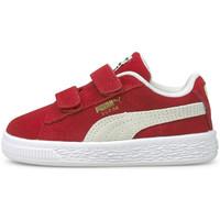 Zapatos Niños Zapatillas bajas Puma Suede classic xxi v inf Rojo