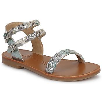 Zapatos Niña Sandalias Pom d'Api KOH BI WOVEN Camuflaje / GLITTER