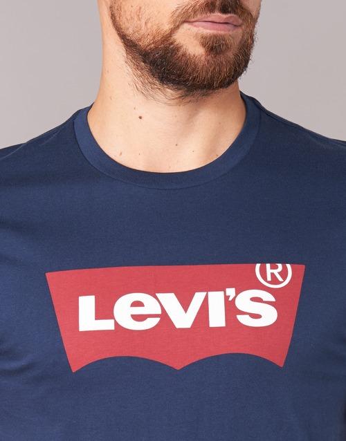 Set Textil Manga In Levi's Marino Hombre Graphic Camisetas Corta Im6Ybfv7gy