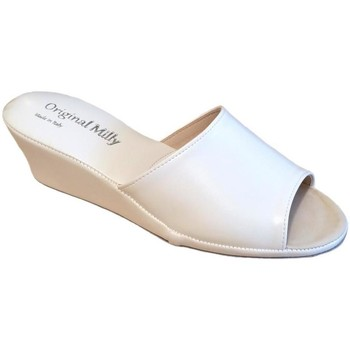Zapatos Mujer Zuecos (Mules) Milly MILLY103bia bianco