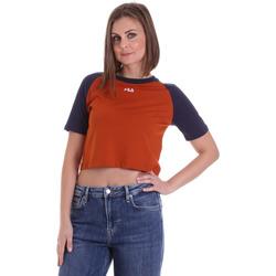 textil Mujer Camisetas manga corta Fila 687919 Naranja