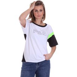 textil Mujer Camisetas manga corta Fila 683145 Blanco