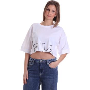 textil Mujer Camisetas manga corta Fila 683170 Blanco