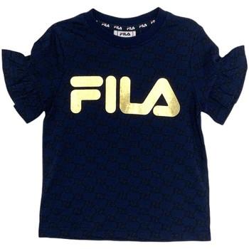 textil Niña Camisetas manga corta Fila 688038 Azul
