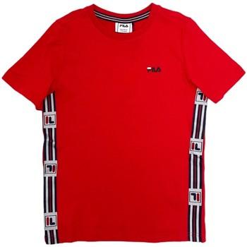 textil Niños Camisetas manga corta Fila 688118 Rojo