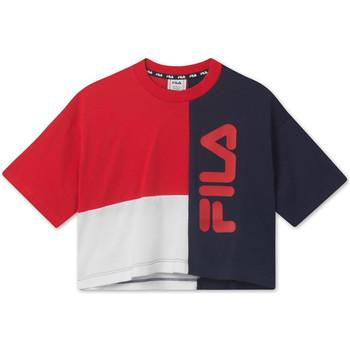textil Niños Camisetas manga corta Fila 687998 Rojo