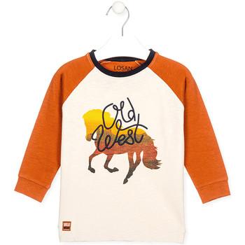 textil Niños Tops y Camisetas Losan 025-1018AL Blanco