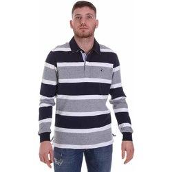 textil Hombre Polos manga larga Navigare NV30026 Azul