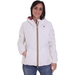 textil Mujer cazadoras K-Way K00A2F0 Blanco