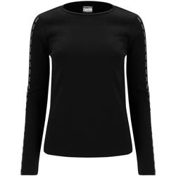 textil Mujer Camisetas manga larga Freddy F0WSDT6 Negro