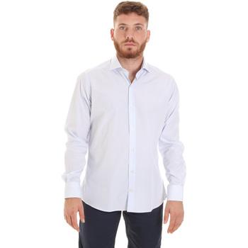 textil Hombre Camisas manga larga Les Copains 20P.922 P3196SL Blanco