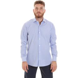 textil Hombre Camisas manga larga Les Copains 20P.623 P3196SL Azul