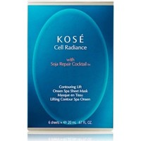 Belleza Mujer Mascarillas & exfoliantes Kose CELL RADIANCE  WITH SOJA REPAIR COCKTAIL TM  CONTOURING Multicolor