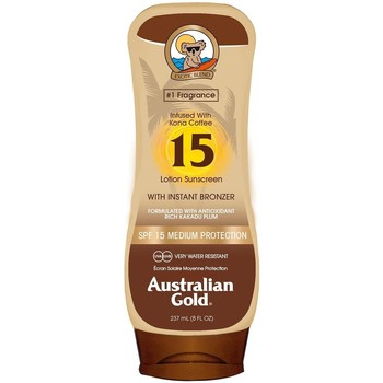 Belleza Protección solar Australian Gold SPF15 WITH INSTANT BRONCER LOTION 237ML Multicolor