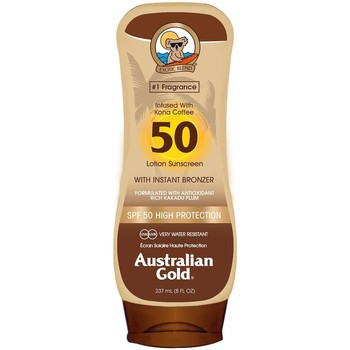Belleza Protección solar Australian Gold SPF50 WITH INSTANT BRONZER LOTION 237ML Multicolor