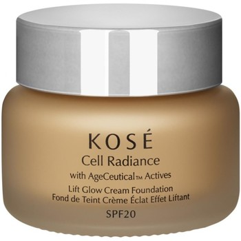 Belleza Mujer Base de maquillaje Kose KOSÉ CELL RADIANCE LIFT GLOW CREAM FOUNDATION 201 NATURAL BE Multicolor
