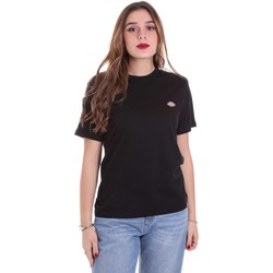 textil Mujer Camisetas manga corta Dickies DK0A4TMYBLK1 Negro