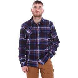 textil Hombre Camisas manga larga Dickies DK520352EL01 Azul