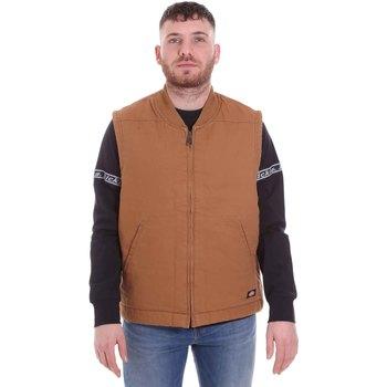 textil Hombre Chaquetas de punto Dickies DK0A4X8UBD01 Marrón