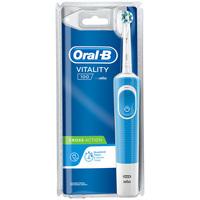 Belleza Tratamiento facial Oral-B Vitality Cross Action Azul Cepillo Eléctrico 1 Pz 1 u