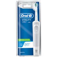 Belleza Tratamiento facial Oral-B Vitality Cross Action Blanco Cepillo Eléctrico 1 Pz 1 u