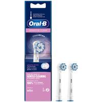 Belleza Tratamiento facial Oral-B Sensitive Clean Cabezales  2 uds