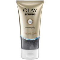 Belleza Mujer Mascarillas & exfoliantes Olay Scrubs Detoxifying Charcoal Crush  150 ml