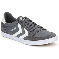 Zapatos Zapatillas bajas Hummel TEN STAR LOW CANVAS Gris / Blanco