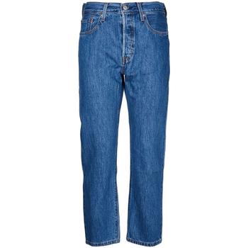textil Mujer Vaqueros rectos Levi's - Jeans 501 36200-0142 BLU