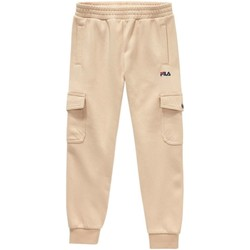 textil Niño Pantalones Fila - Pantalone beige 688132-A694 BEIGE