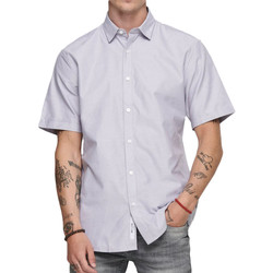 textil Hombre Camisas manga corta Only & Sons   Gris